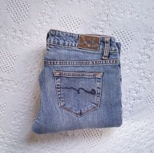 American Rag Cie Super Flare Jeans Size 3S